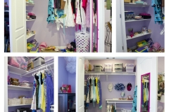 Tween Closet Before and After